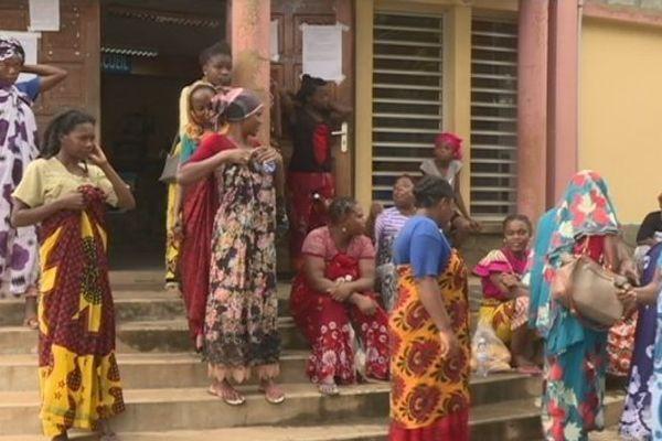 Manifestation femmes de Ongojou