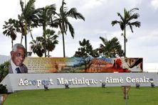 Point d'entrée de l'aéroport Aimé Césaire de Martinique