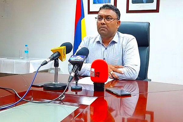 Yogida Sawmynaden, ministre du Commerce de l'île Maurice