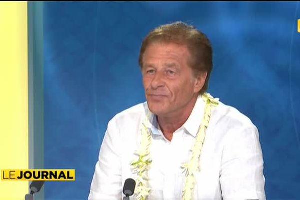 Henri Sannier, parrain de « La ronde tahitienne »