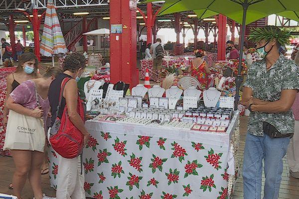 Marché de Papeete / Artisanat