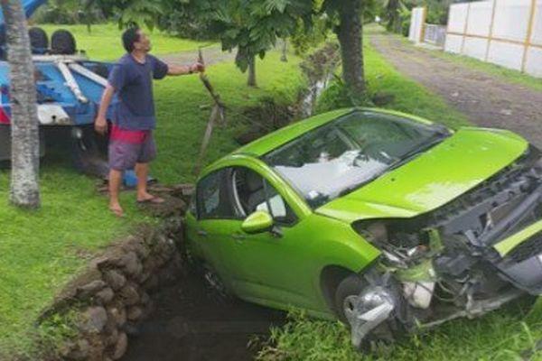 Accident à Papeari