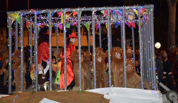 Carnaval 2018, troupe de Nivane