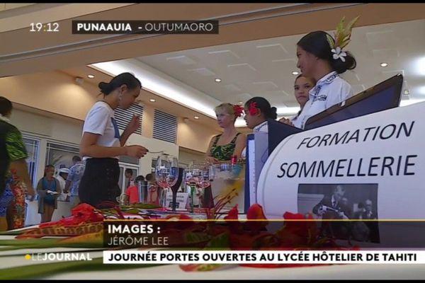 Journée portes ouvertes au lycée hôtelier de Punaauia
