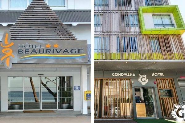 Hôtels quatorzaine payante Beaurivage et Gondwana
