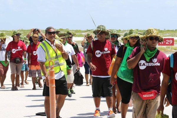 C'est reva pour les jeux inter-îles des Tuamotu !