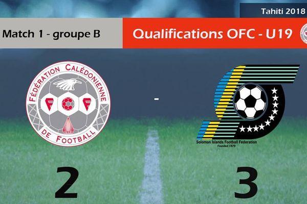 Football score Tahiti éliminatoires Fifa Mondial U20