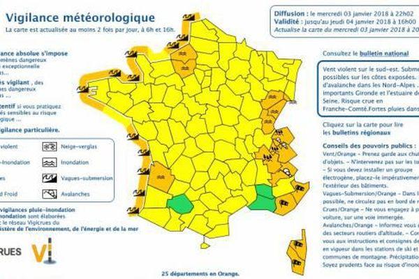 France tempête