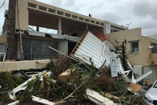 Marigot après Irma