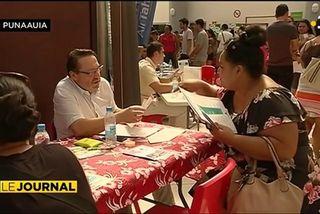 Des visiteurs par centaines au ''Carrefour de l'emploi''