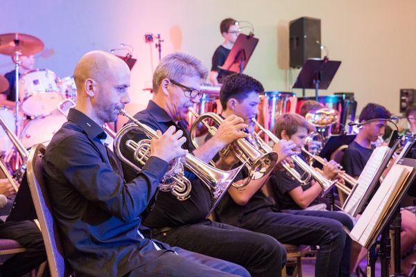 Concert de l'orchestre symphonique du Conservatoire