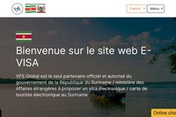 Site web e-visa