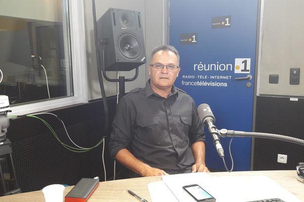 Eric Marcely, porte-parole du Collectif citoyen contre la vie chère