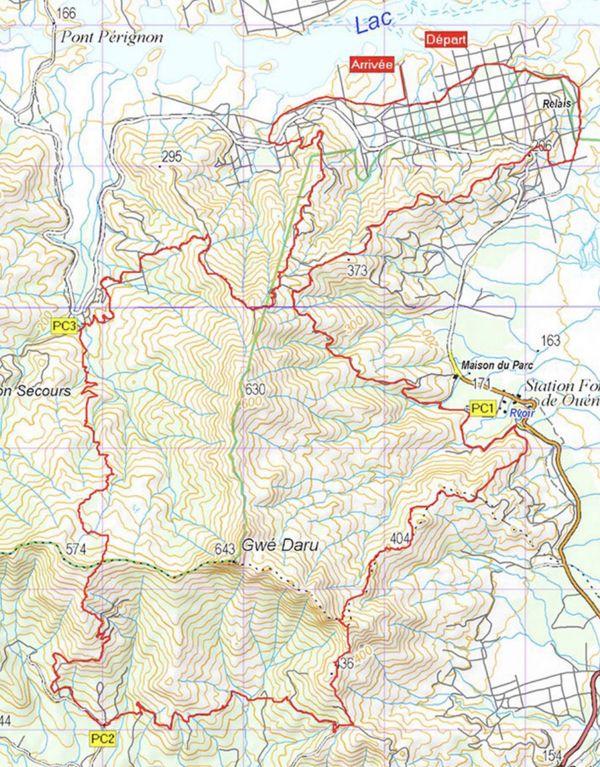 Transcalédonienne : parcours de 25 km - 2e journée