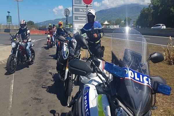 journée de perfectionnement à la conduite des motos