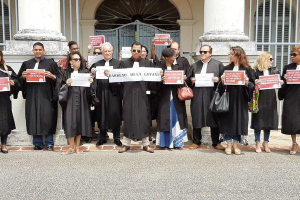 Les avocats mobilisés contre la réforme des retraites 16 9 19