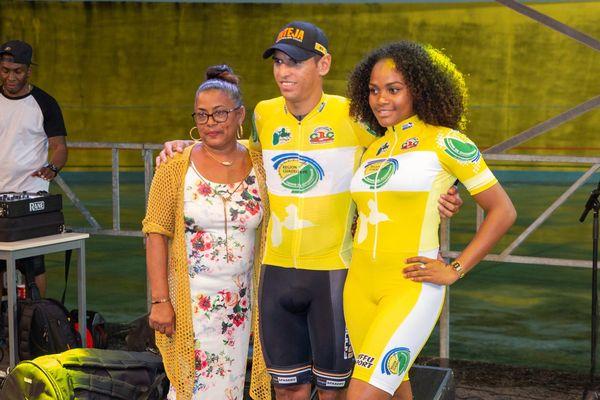 AGUIRRE Jose, maillot jaune après prologue Tour 2018