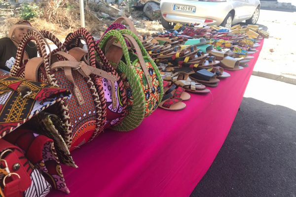 Marché artisanal et paysan de Pamandzi