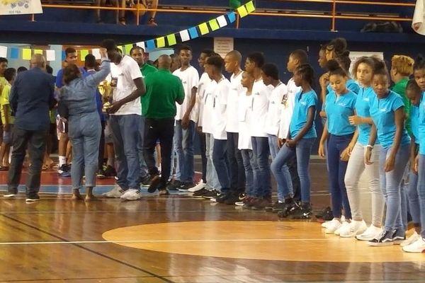 basket U13 Guadeloupe