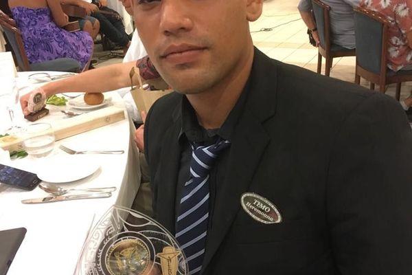 Heremoana Temo, 1er prix Espoir Bar