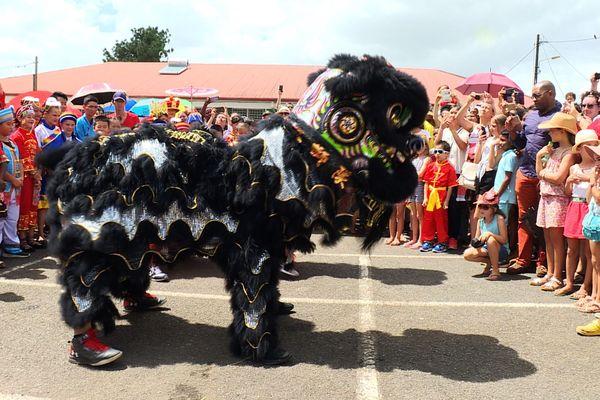 St. Laurent-du-Maroni : fête l'année du cochon