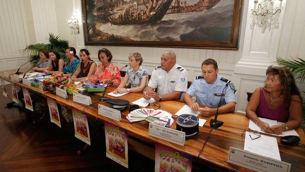 conference de presse violences faites aux femmes