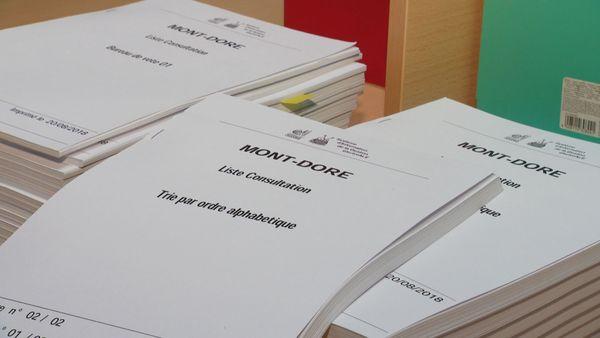 Liste électorale référendaire, au Mont-Dore, 31 août 2018