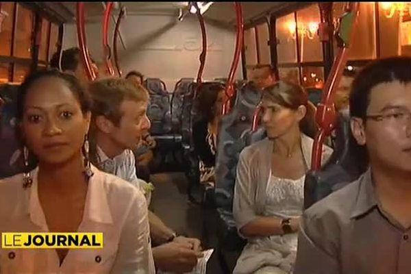 En bus de nuit ce weekend...