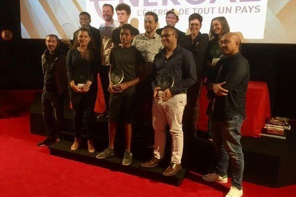 Palmarès du festival du cinéma de La Foa : photo des lauréats