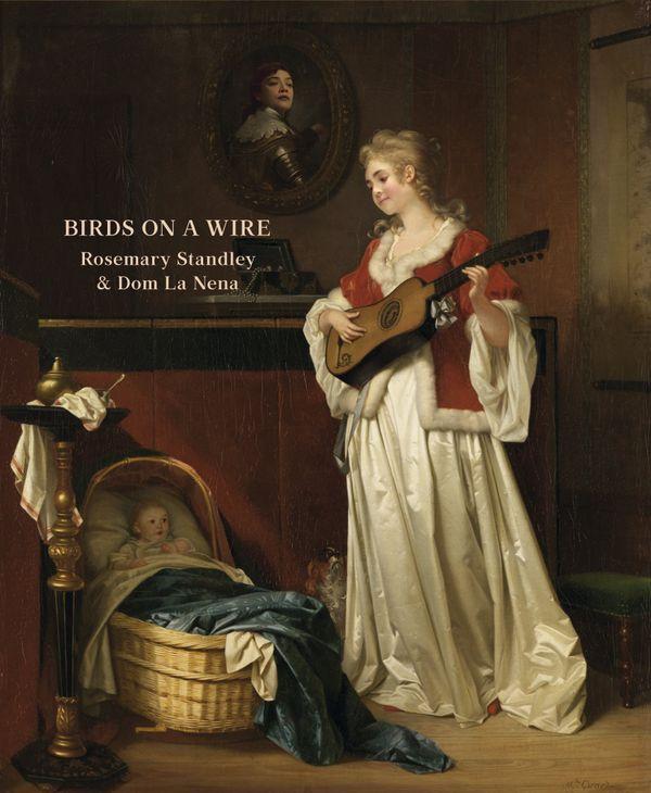 """Pochette de l'album de reprises """"Birds on a wire"""""""