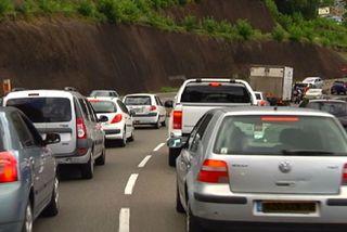 Embouteillages autour de Fort de France