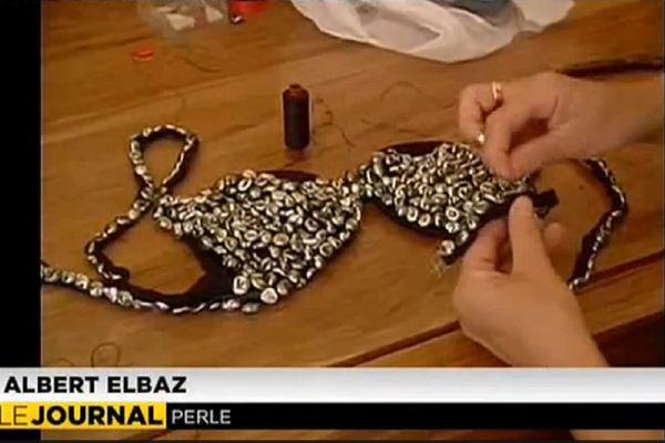 Quand la perle inspire les couturiers