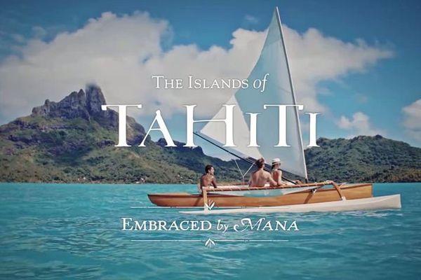 Campagne pour la destination Polynésie en direction des touristes américains