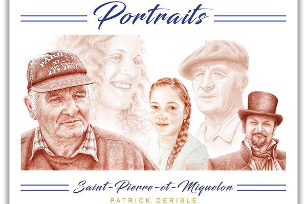 Portraits, nouvel ouvrage de Patrick Derible