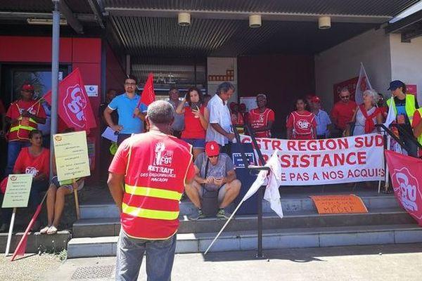 Grève CGTR pouvoir d'achat vie chère salaires 141218