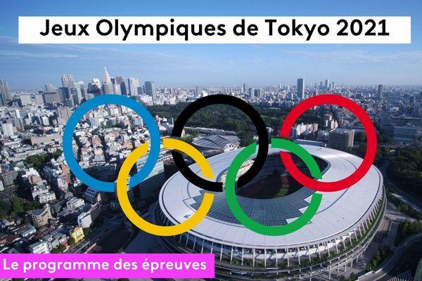JO Tokyo 2021 : le programme des épreuves