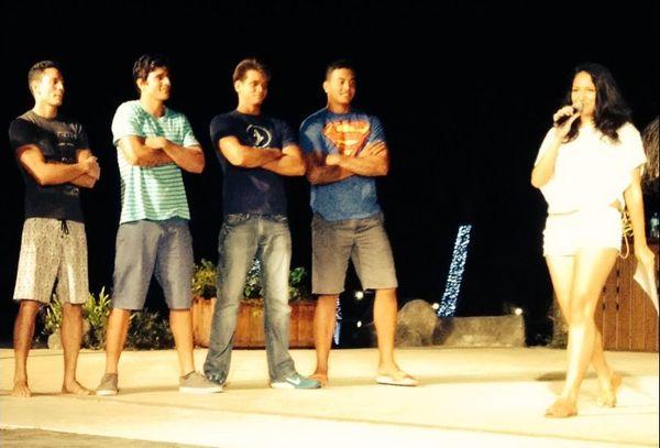 Répétition Mister Tahiti 2014