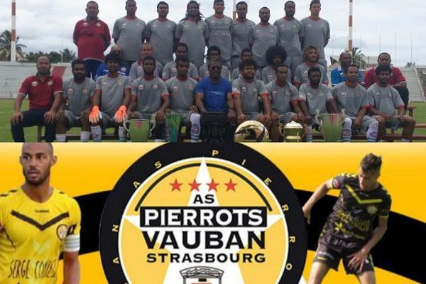Foot Hienghène Sport/AS Pierrots Vauban Strasbourg