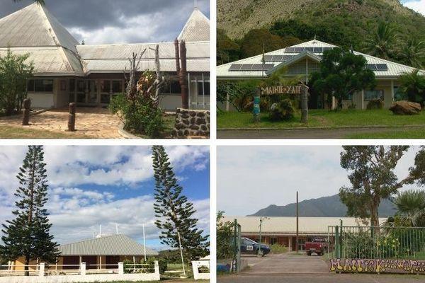 Mairies Canala, Yaté, Poum, Kouaoua . Trib administratif