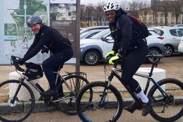 Medhi Voitier challenge à vélo contre l'obésite