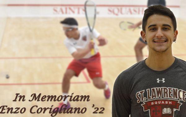 L'université américaine d'Enzo Corigliano lui a dédié une page sur son site internet.