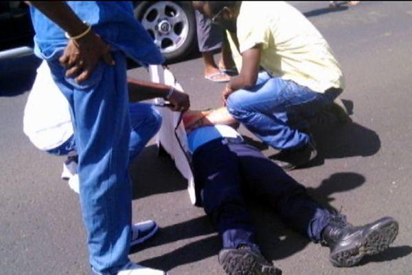 gendarmes blessés lors d'un contrôle routier