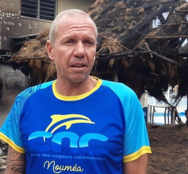 Emmanuel Poissier, responsable sportif, CNC, après le feu du 28 juillet 2020.