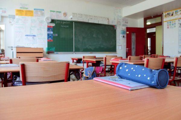 greve école/classe vide