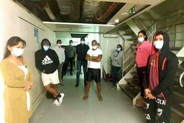 Employés mauriciens des paquebots de la MSC bloqués