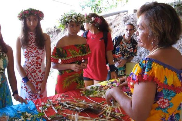 Une journée culturelle pour le collège de Nuku Hiva