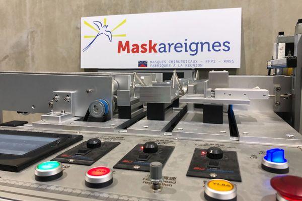 machine à masques péï