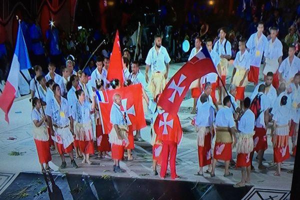 Cérémonie d'ouverture des XV ème jeux du Pacifique à Port Moresby 6