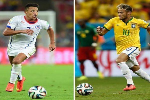Brésil-Chili et Colombie-Uruguay : les huitièmes de finale commencent !