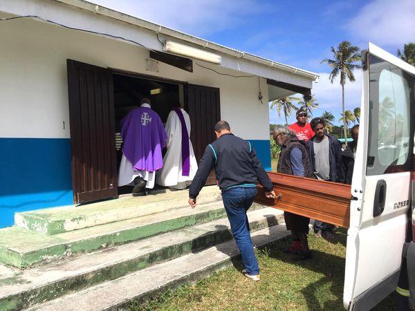 Obsèques d'Etienne Zongo à Drueulu, 24 août 2019